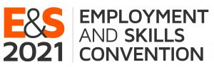 E&S Employment and Skills logo CMYK 2021 grey
