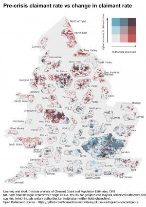 MSOA hex map - Bivariate (website)
