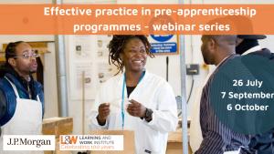 1Effective Practice in Pre-apprenticeship programmes - webinar series