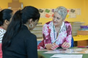Classroom - lady teaching 2 - resized